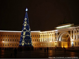 New Year In St.Petersburg